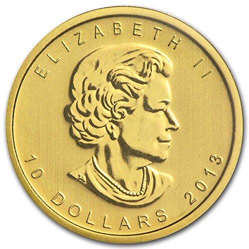 2013 Ca Canada Polar Bear 1 4 25 Oz 9999 Gold Coin 10