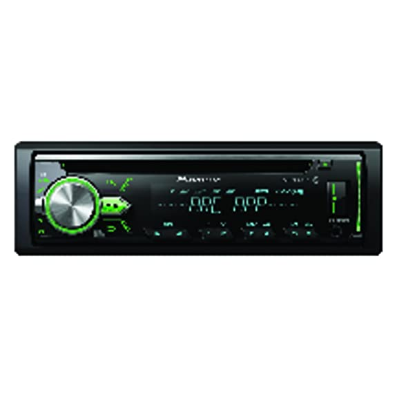 61iC9PvkC2L._SX575_ amazon com pioneer deh x4900bt vehicle cd digital music player  at soozxer.org