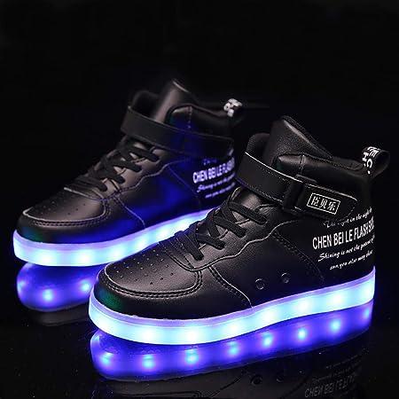 scarpe led bambini che illuminano bambino luminose scarpa