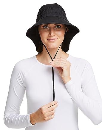 7135c44c9d4d9 Solbari UPF 50+ Sun Protection Adventure Sun Hat - 22 inches - Black - UV