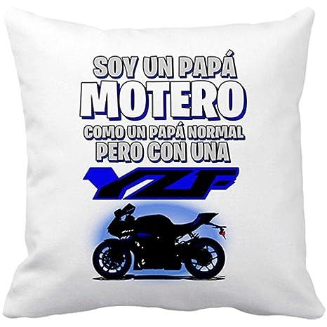 Diver Bebé Cojín con Relleno Soy un papá Motero Moto YZF ...
