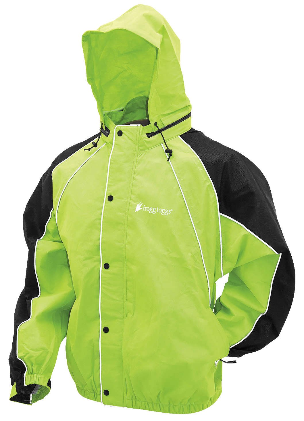 Frogg Toggs FT10322-481-MD Hogg Togg Rainsuit (Hi-Vis/Black, Medium) by Frogg Toggs