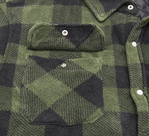 Navy Imbottito Indumenti Camicia Nero Taglie Foderato Verde E Xxl Dickies L Blu Lavoro M Pile Caldo sh5000 S Portland Da Xl OwEEcI65q