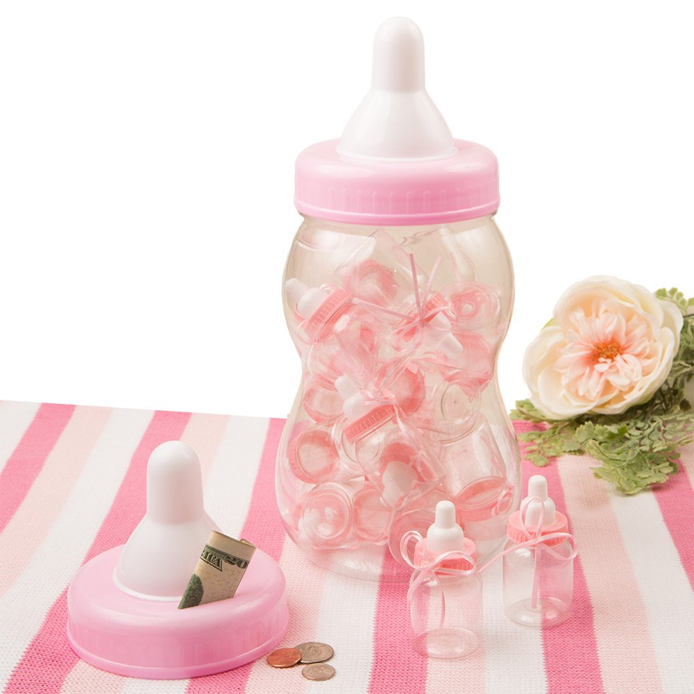 Perfectly Plain Collection Giant Pink Bottle Bank Container Dochsa SG/_B016LCCPYO/_US