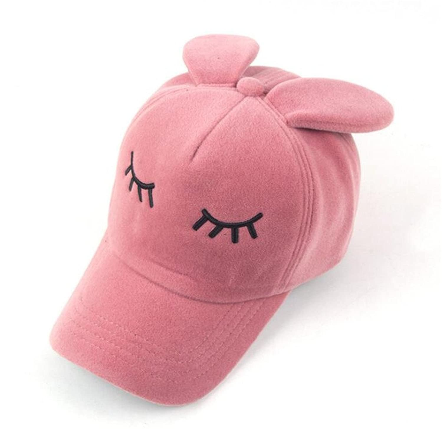 GAMT Fashion Winter Rabbit Eyelashes Ears Baseball Cap tide Hip Hop Flat Hat
