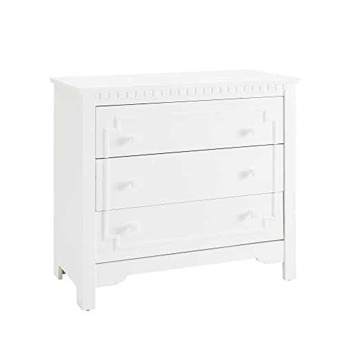 Baby Relax Teri 3-Drawer Dresser and Topper