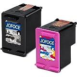 Jofoce Remanufactured HP 302 302XL Cartucce d'inchiostro (1 Nero,1 Tricromia), Compatibile con HP DeskJet 1110 1115 2130 2132 3630 3632 OfficeJet 3830 3831 3832 4651 Envy 4520 4521 4522 4526 Stampante