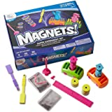 hand2mind-90740 Magnetic Science Kit for Kids 8-12, Kids Science Kit with Fact-Filled Guide, Make Magnets Float and…
