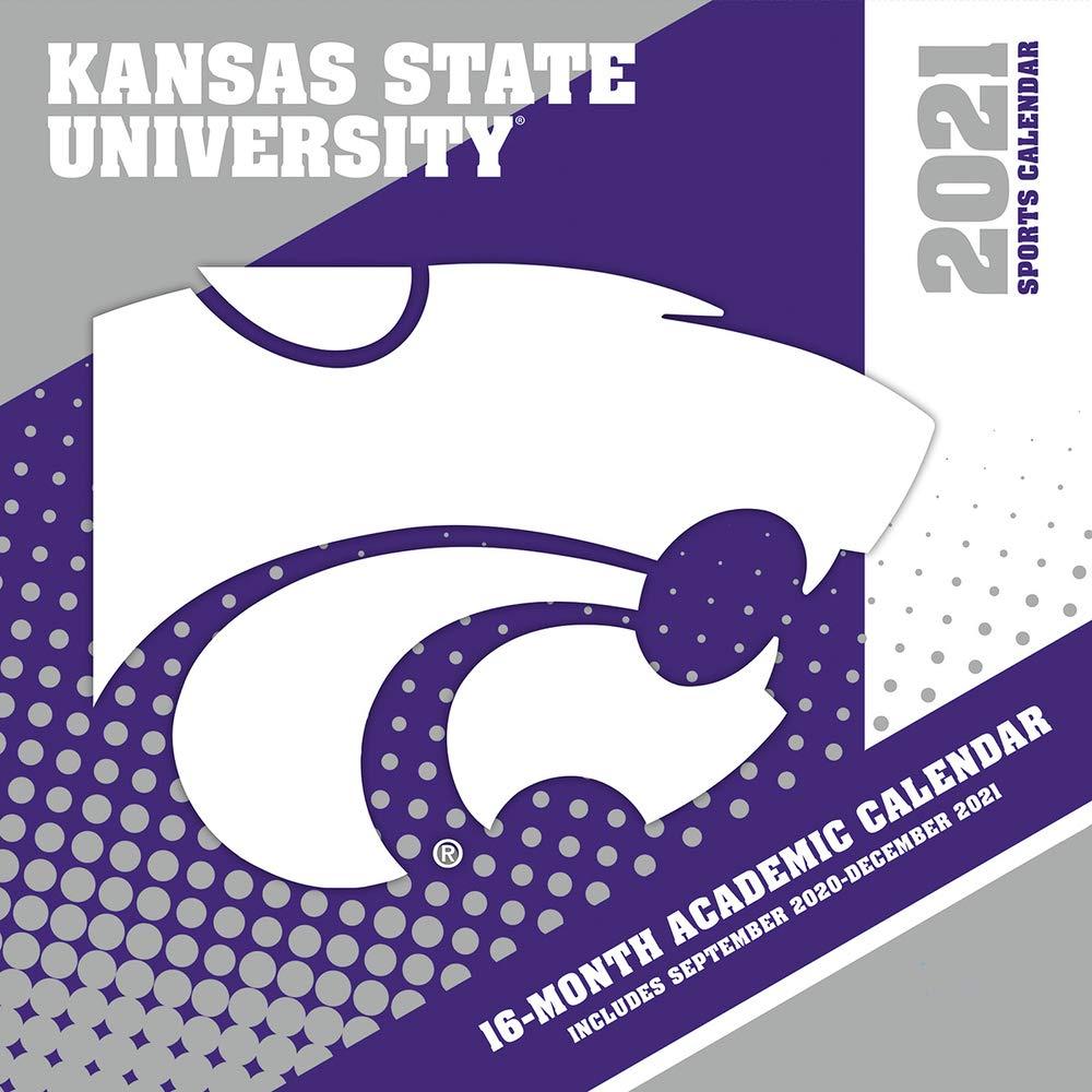 Ksu Academic Calendar 2021 Kansas State Wildcats 2021 12x12 Team Wall Calendar: 9781469377858