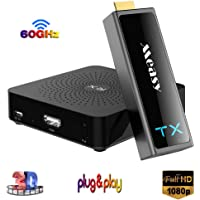 MEASY W2H Mini II 2 Wireless HDMI Transmitterhdmi WiFi Extender Support Full hd 1080p and 3D Video Transmission 60GHZ up…