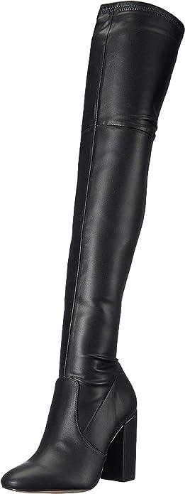 Maede Block Heel Over-The-Knee Boot