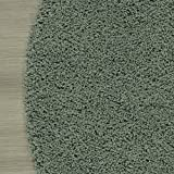 """Sweet Home Stores Shaggy Rug, 5'3"""" Round, Seafoam"""