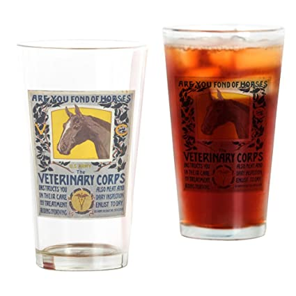 CafePress   Are You Fond Of Horses US Army   Horst Schreck   1   Pint