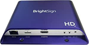BrightSign Full HD Standard I/O Digital Signage Player HTML5 (HD224)