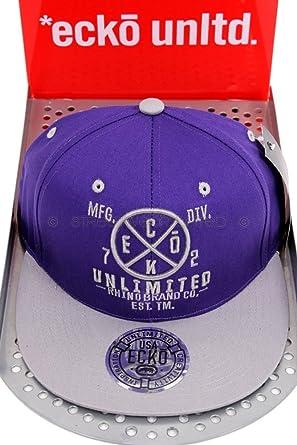 Gorra de béisbol con rinoceronte y visera plana, de la marca Ecko ...