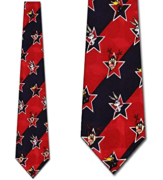 Corbata Looney Tunes Usa Corbata Corbata De Dibujos Animados Para ...