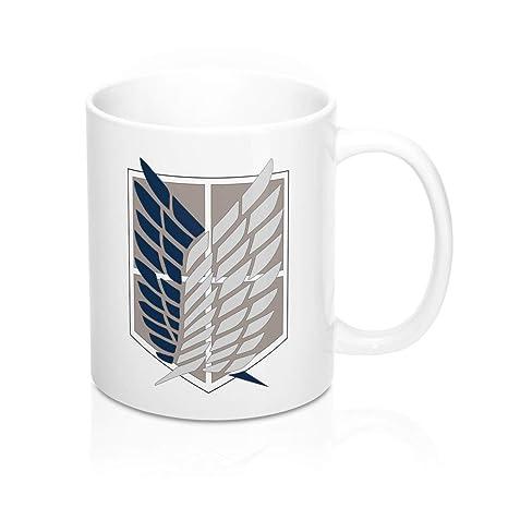 Amazon.com: Tazas de té y tazas de café con el símbolo del ...