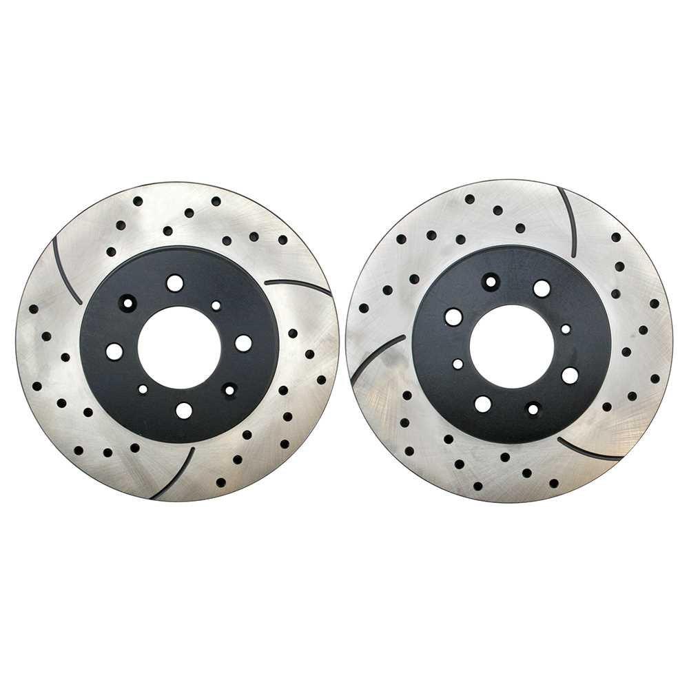 AutoShack BC30175PR Front Disc Brake Caliper Pair