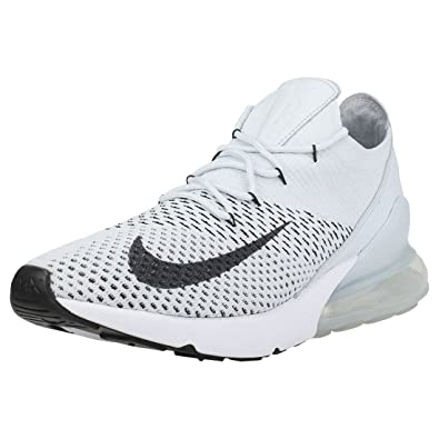 fc4ebfb91798 NIKE Air Max 270 Flyknit Mens Trainers Platinum - 12 UK  Amazon.co ...