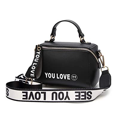 457588e0fe Women Small Handbags Crossbody Purse Ladies Designer Top-handle Shoulder Bag  (2-Black