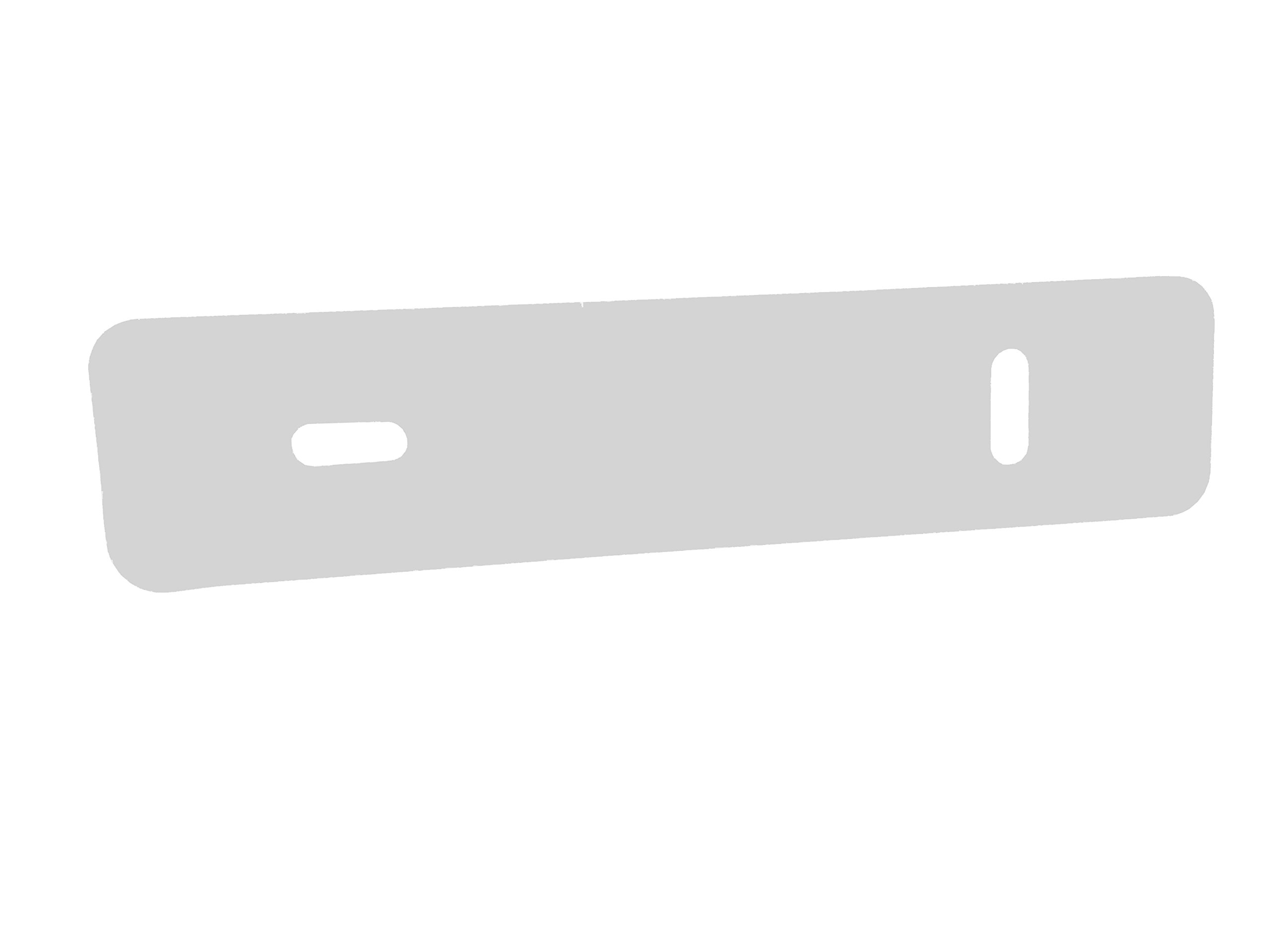 Rehabilitation Advantage High-Density Poly Transfer Board 1/2'' Thick X 34'' Long with 2 Hand Holes
