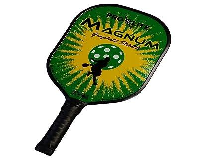 Amazon.com: Pro-Lite Deportes Magnum Grafito Pickleball ...