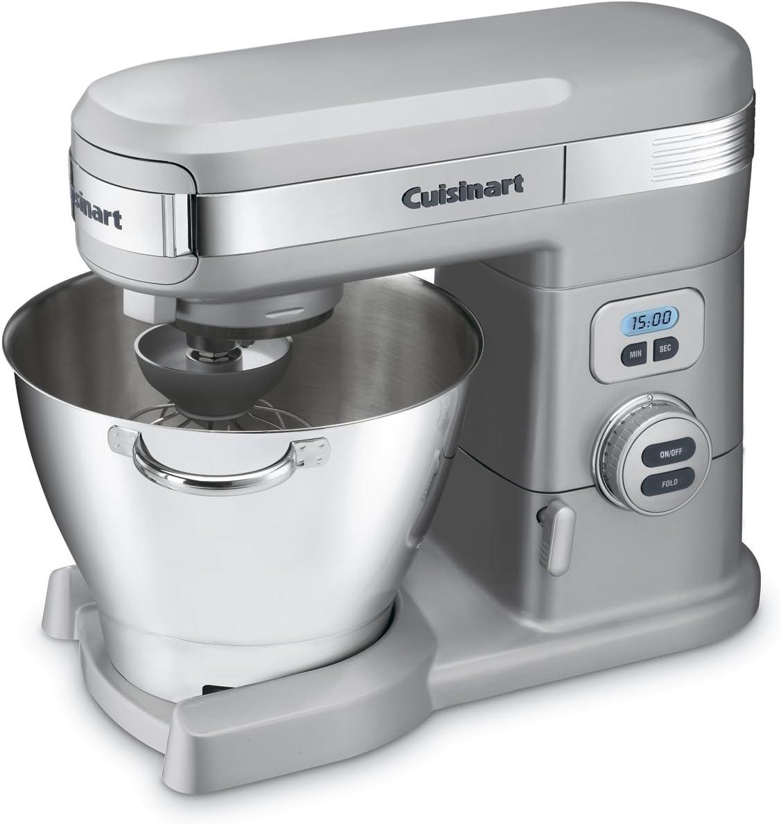 Cuisinart SM-55BC 5-1 2-Quart 12-Speed Stand Mixer, Brushed Chrome