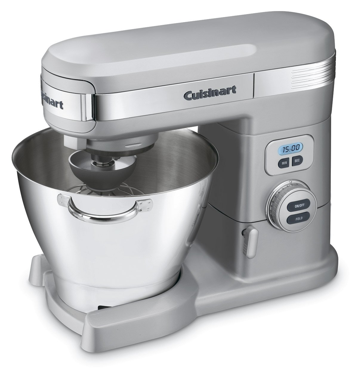 Cuisinart SM-55BC 5-1 2-Quart 12-Speed Stand Mixer, Brushed Chrome