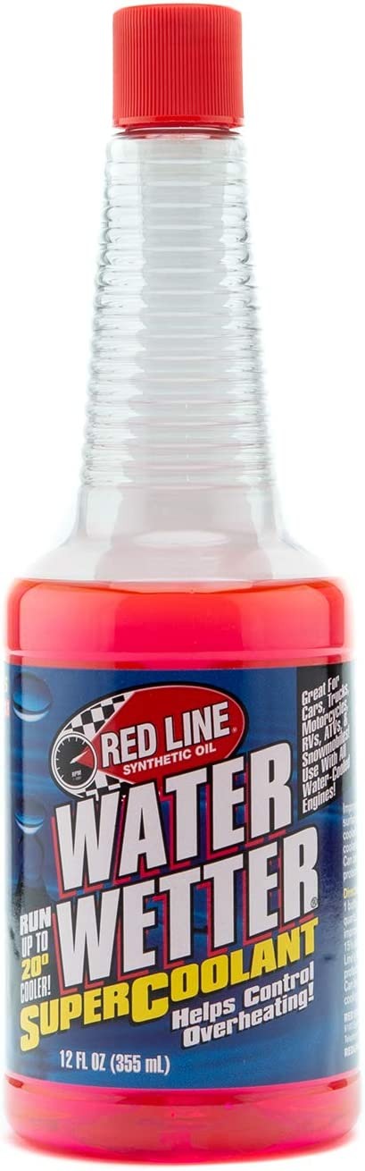 Red Line Oil 80204 Water Wetter Coolant Additive Pack of 4 Bottles