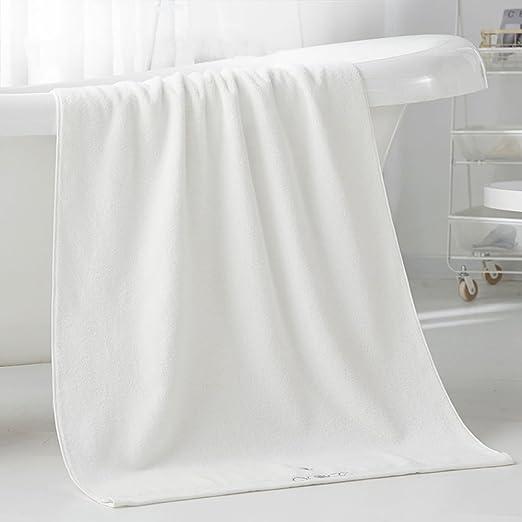 Mercely 100% algodón toalla de baño ultra suave súper absorbente ...