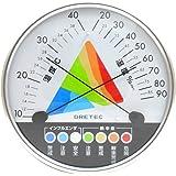 ドリテック 熱中症・インフルエンザ警告温湿度計 O-311WT