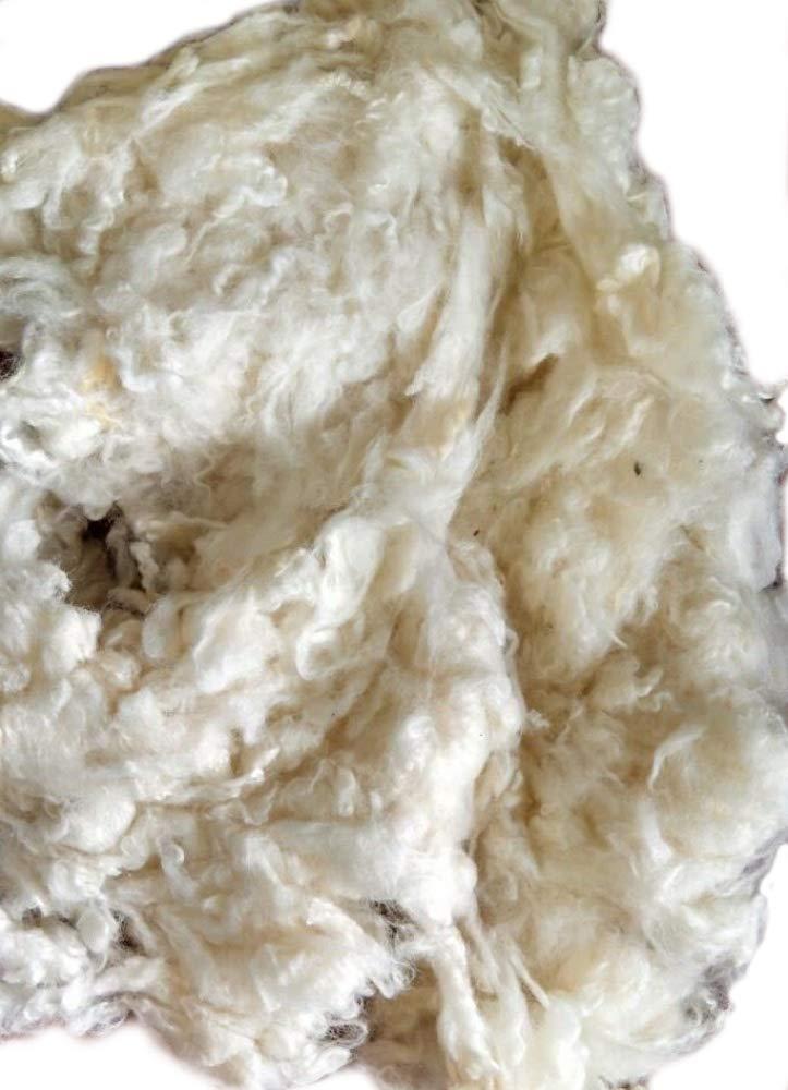Organic Cotton Plus Wool Stuffing/Batting By the Pound - Natural - 1 Pound 4337013686
