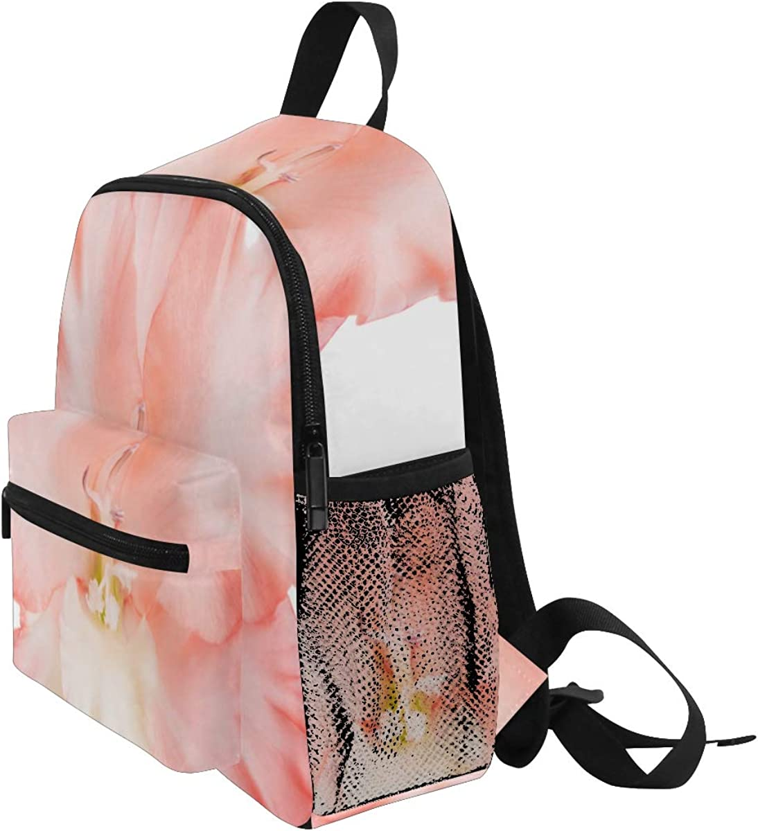Backpack Cute Kids Backpack Gladiolus Flowers Isolated On White Children Bag Toddler Backpack Bookbag School Bag