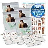 Med-Fit Tens Electrode Pads High Quality Extra Long Lasting Self Adhesive Tens Electrodes size 2