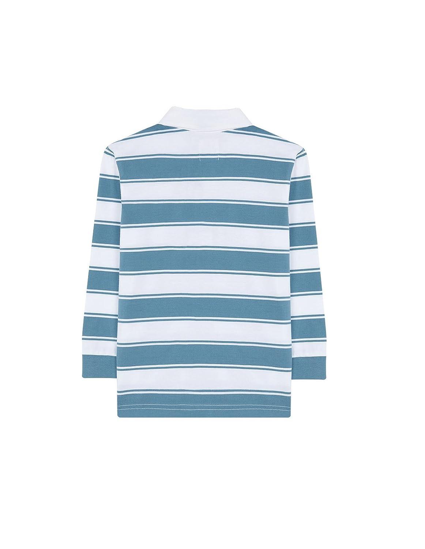 Gocco W72RNLCA210AP Polo, Azul (Azul Verdoso), 9-10 años para ...