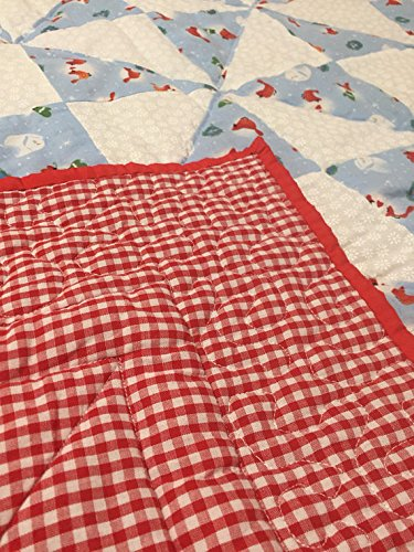 Christmas Themed Baby Quilt