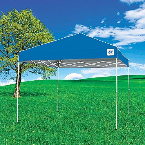 E-Z UP ENV9104BL Envoy pop up Canopy Tent, 10x10, Blue