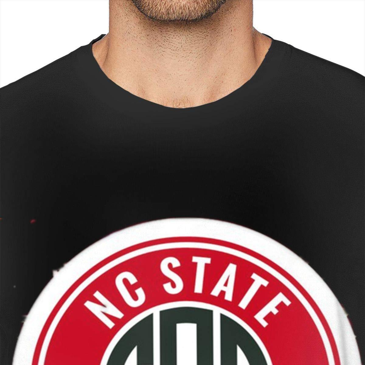 BODATU Mens Design with NC North Carolina A/&T State Universi Fashion Shirt