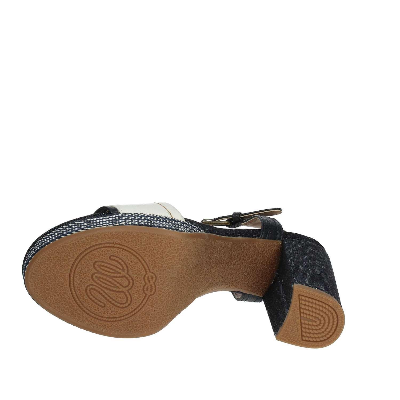 Wrangler WL181644 Sandale Damen Damen Sandale Weiss/Blau 5cf2d7