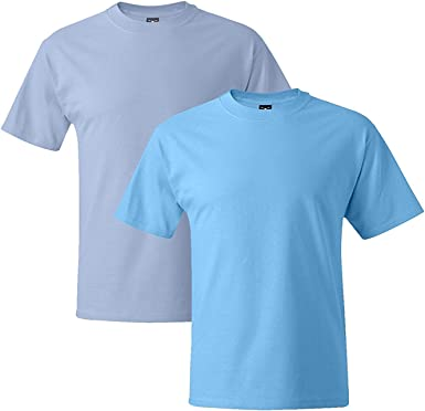 Pale Pink Hanes Mens Short Sleeve Beefy-T XXX-Large Pack of 2