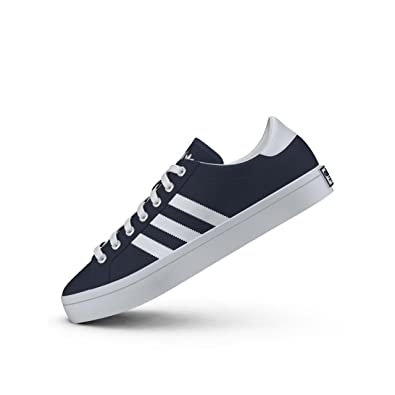 dfd495683c6a adidas Mens Originals Mens Courtvantage Trainers in Navy - UK 4.5   Amazon.co.uk  Shoes   Bags