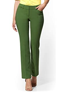 7d6102683fd439 New York & Co. Hardware-Accent Ankle Pant All-Season Stretch - at ...