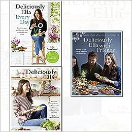 bda5c2a01cb62 ella mills 3 books collectino set - (deliciously ella