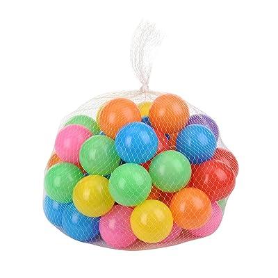 Per Children Ball Pit Balls Ocean Ball for Kids Playing (50 pcs): Toys & Games