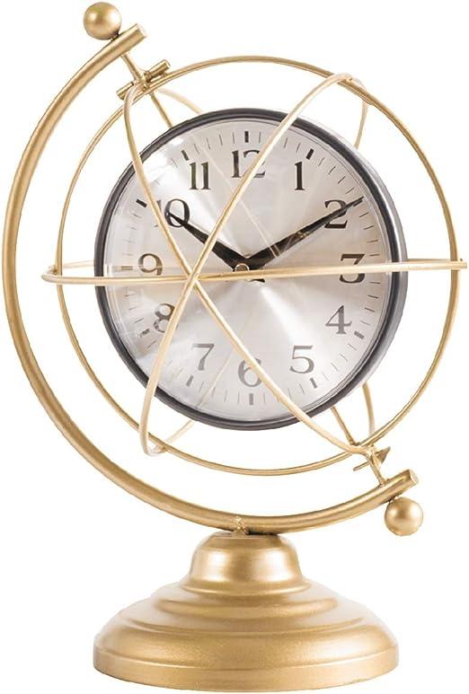 X-HH Reloj de Mesa, Taiwán Reloj Estilo Industrial Americano ...