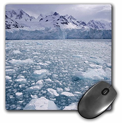 Price comparison product image 3dRose LLC 8 x 8 x 0.25 Inches Mouse Pad, South Georgia isl and, Iris Bay, Sea Ice, Herz Glacier-An01 Bja0078 - Janyes Gallery (mp_75194_1)