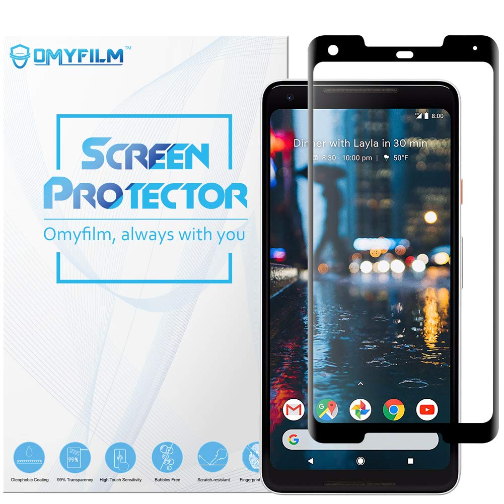[2 Pack] Oneplus 6T Screen Protector OMYFILM Oneplus 6T Tempered Glass Screen Protector [Smooth Touch] [Shock-Resistant] HD Clear Glass Screen Protector for Oneplus 6T (Oneplus 6T)