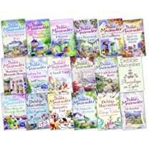 Debbie Macomber A Cedar Cove Story 18 Books Collection Pack Set RRP £136.82 (The Shop on Blossom Street, A Good Yarn, Back on Blossom Street, Twenty Wishes, Summer on Blossom Street, Old Boyfriends, Thursdays at Eight, Hannah''s List, Falling for Chr