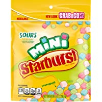STARBURST Minis Sours Candy bag, 8.0 Ounce (Pack of 8)
