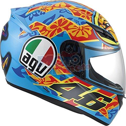 AGV K3 Rossi Mugello 2001 - Casco de moto, modelo de 2015 XXL: Graphic: Amazon.es: Coche y moto